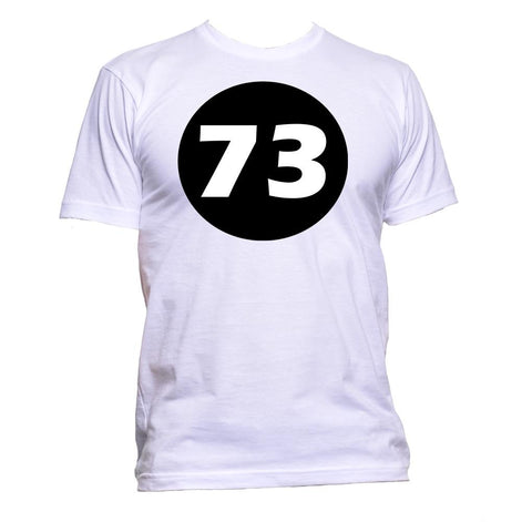 AppleWormDesign • 73 Number gift - Men's T-Shirt •