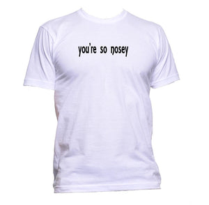 AppleWormDesign • You're So Nosey gift - Men's T-Shirt •