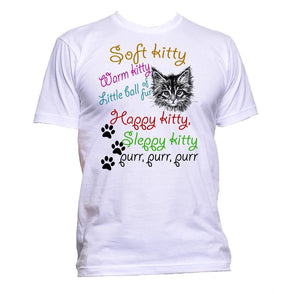 AppleWormDesign • Soft Kitty Warm Little gift - Men's T-Shirt •
