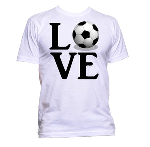 AppleWormDesign • Love Ball Football gift - Men's T-Shirt •