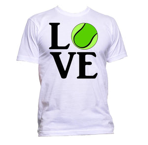AppleWormDesign • Love Ball Tennis gift - Men's T-Shirt •