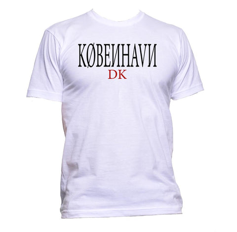 AppleWormDesign • KØBE?HAV? Copenhagen gift - Men's T-Shirt •