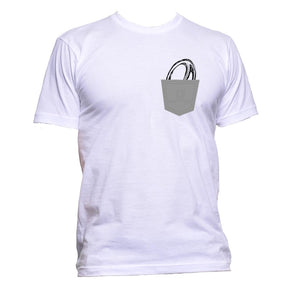 AppleWormDesign • Rugby Ball In Pocket gift - Men's T-Shirt •