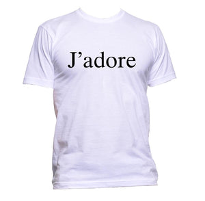 AppleWormDesign • J'adore T-Shirt gift - Men's T-Shirt •