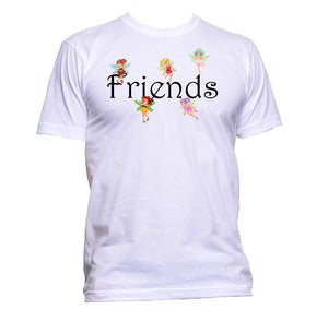 AppleWormDesign • Friends With Fairies gift - Men's T-Shirt •