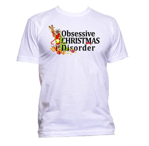 AppleWormDesign • Obsessive Christmas Disorder gift - Men's T-Shirt •