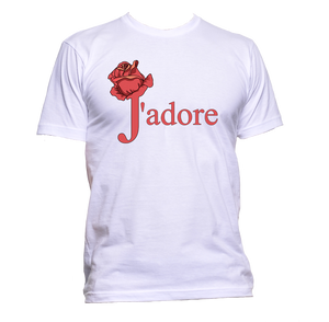 AppleWormDesign • J'adore T-Shirt I Just Love It gift - Men's T-Shirt •