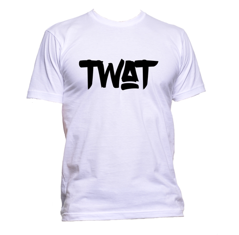 AppleWormDesign • Twat Black Font gift - Men's T-Shirt •