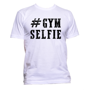 AppleWormDesign • # Gym Selfie gift - Men's T-Shirt •