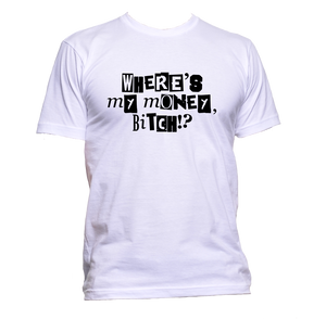 AppleWormDesign • Where's My Money Bith? gift - Men's T-Shirt •