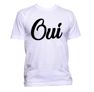 AppleWormDesign • Oui gift - Men's T-Shirt •