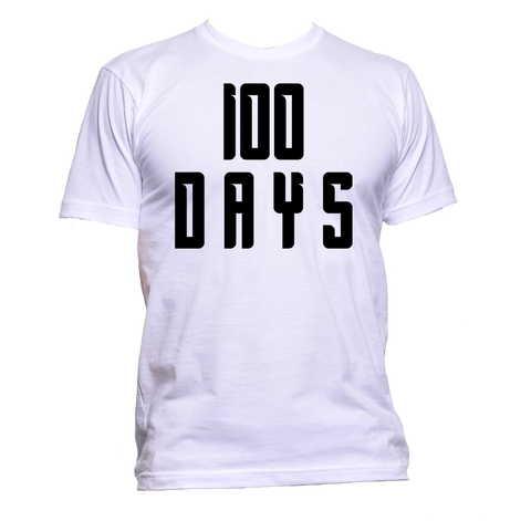 AppleWormDesign • 100 Days gift - Men's T-Shirt •