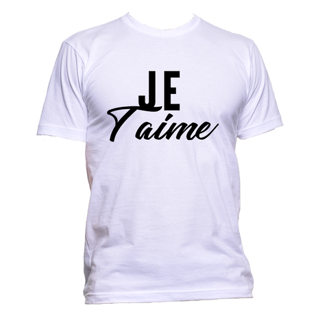 AppleWormDesign • Je T'aime French gift - Men's T-Shirt •