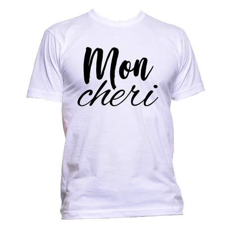 AppleWormDesign • Mon Cheri gift - Men's T-Shirt •