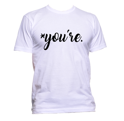 AppleWormDesign • * you're are gift - Men's T-Shirt •