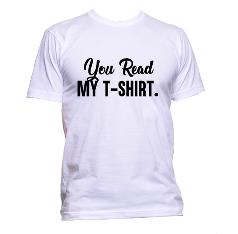 AppleWormDesign • You Read My T-Shirt gift - Men's T-Shirt •