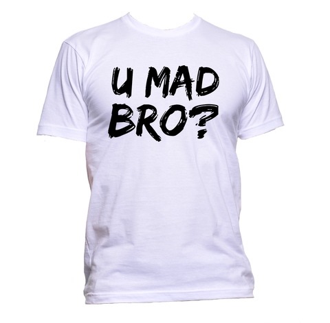 AppleWormDesign • You Mad Bro? gift - Men's T-Shirt •