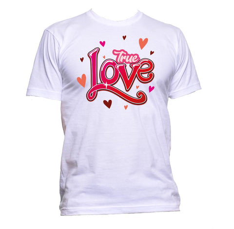 AppleWormDesign • True Love gift - Men's T-Shirt •