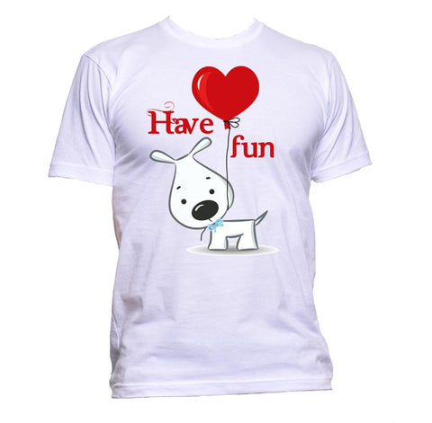 AppleWormDesign • Have Fun With Dog gift - Men's T-Shirt •