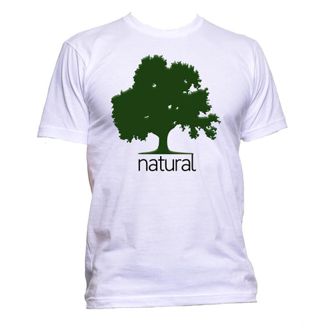 AppleWormDesign • Natural Tree Nature gift - Men's T-Shirt •