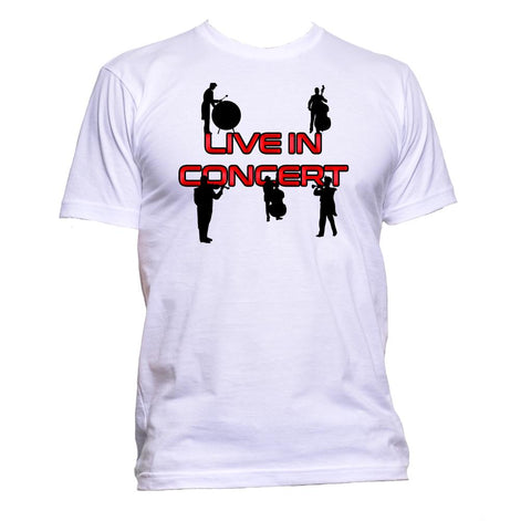 AppleWormDesign • Live In Concert gift - Men's T-Shirt •