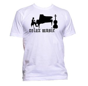 AppleWormDesign • Relax Music Piano Classical gift - Men's T-Shirt •