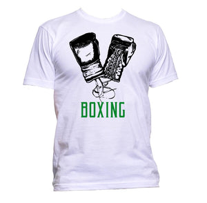 AppleWormDesign • Boxing With Gloves gift - Men's T-Shirt •