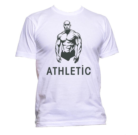 AppleWormDesign • Athletic Gym Cardio Lift gift - Men's T-Shirt •