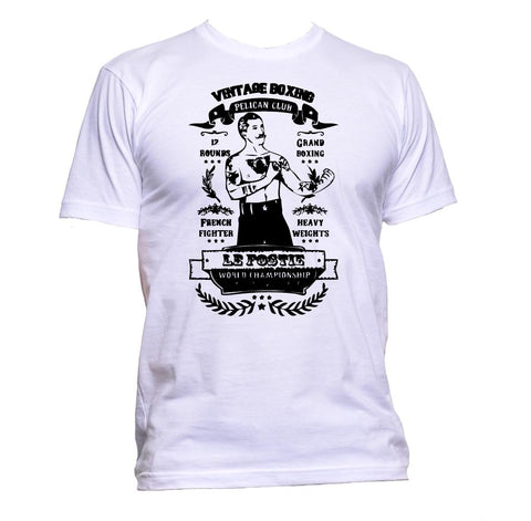 AppleWormDesign • Boxing Retro Vintage gift - Men's T-Shirt •