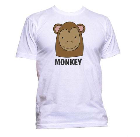 AppleWormDesign • Monkey With Drawing gift - Men's T-Shirt •