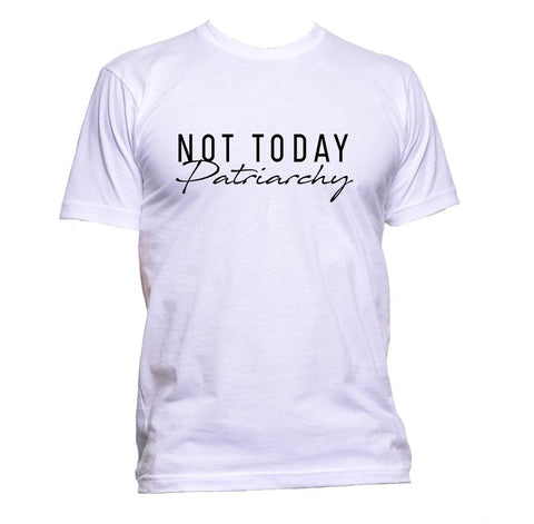 AppleWormDesign • Not Today Partiarchy gift - Men's T-Shirt •
