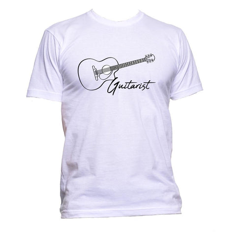 AppleWormDesign • Guitarist Music gift - Men's T-Shirt •