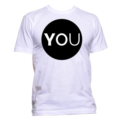 AppleWormDesign • You In Circle gift - Men's T-Shirt •