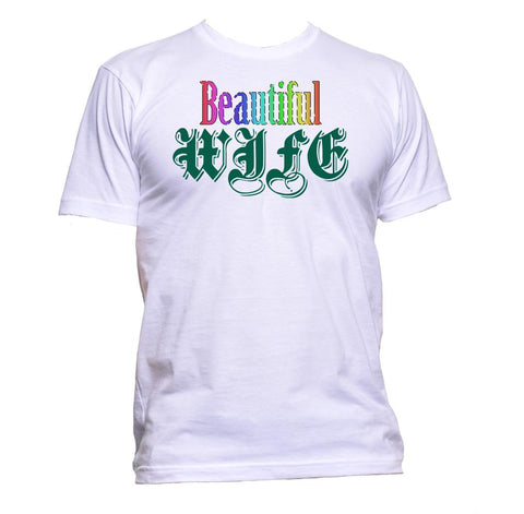 AppleWormDesign • Beautiful Wife gift - Men's T-Shirt •