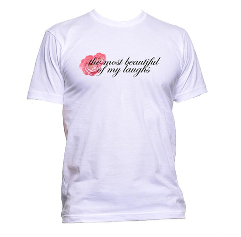 AppleWormDesign • The Most Beautiful Of My Laughs gift - Men's T-Shirt •