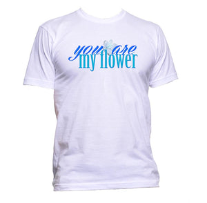 AppleWormDesign • You Are My Flower gift - Men's T-Shirt •