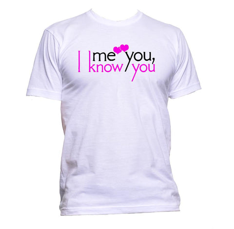 AppleWormDesign • I Know You Love Heart gift - Men's T-Shirt •