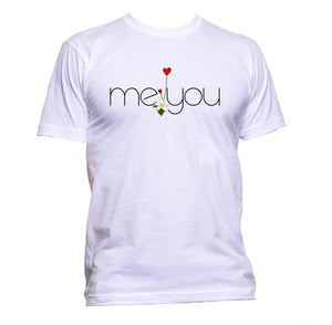 AppleWormDesign • Me And You Love Heart gift - Men's T-Shirt •