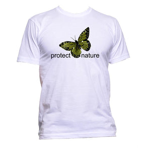 AppleWormDesign • Protect Nature With Butterfly gift - Men's T-Shirt •
