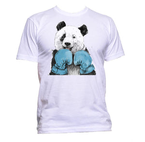 AppleWormDesign • Boxer Panda gift - Men's T-Shirt •