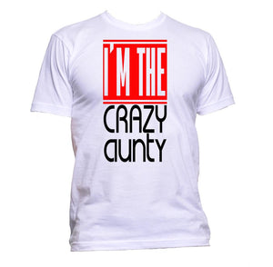 AppleWormDesign • I'm The Crazy Aunty gift - Men's T-Shirt •