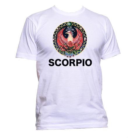 AppleWormDesign • Scorpion Horoscope Astrology Zodiac Star Signs gift - Men's T-Shirt •