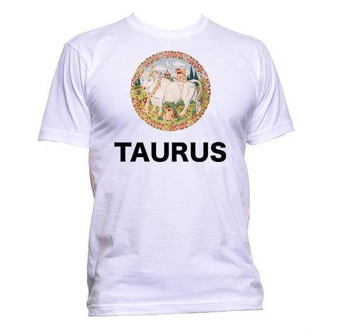 AppleWormDesign • Taurus Horoscope Astrology Zodiac Star Signs gift - Men's T-Shirt •