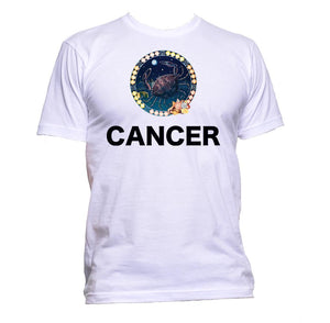 AppleWormDesign • Cancer Horoscope Astrology Zodiac Star Signs gift - Men's T-Shirt •