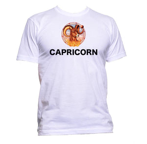 AppleWormDesign • Capricorn Horoscope Astrology Zodiac Star Signs gift - Men's T-Shirt •