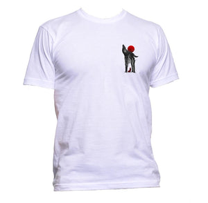 AppleWormDesign • Wolf And Red Hood Pocket gift - Men's T-Shirt •