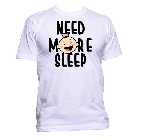 AppleWormDesign • Need More Sleep Baby gift - Men's T-Shirt •