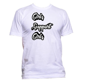 AppleWormDesign • Girls Support Girls gift - Men's T-Shirt •