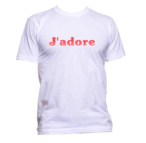AppleWormDesign • J'adore Red Font gift - Men's T-Shirt •