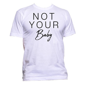 AppleWormDesign • Not Your Baby gift - Men's T-Shirt •